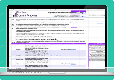 Download The Lean Content Academy