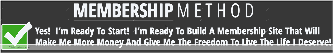 Shipping  Membership Sites Membership Method