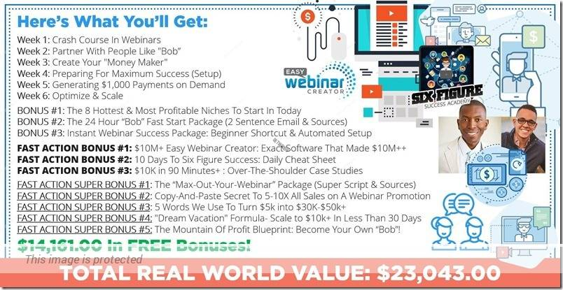 Six Figure Success Academy  Course Creation  Veterans Coupon June 2020
