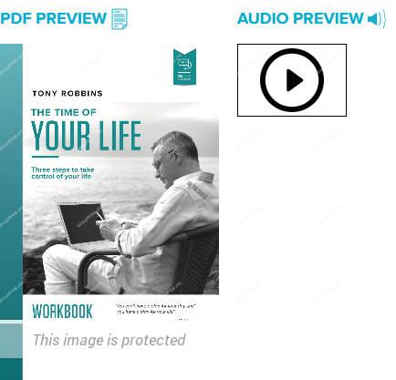 Tony Robbins – Time of Your Life