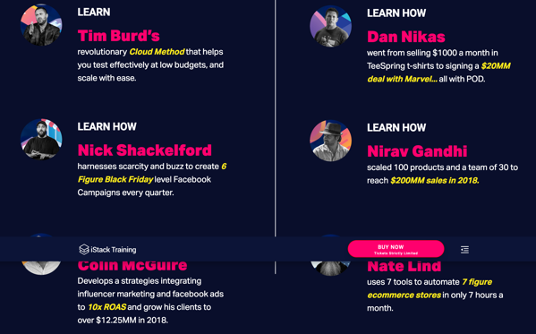 Screenshot 2019 03 15 iStack Training Events 1