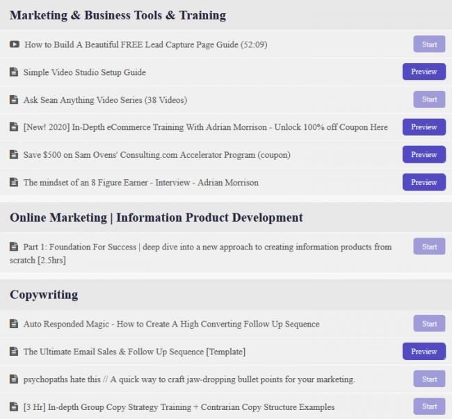 Download Sean Vosler – Entrepreneur Club + Bonus